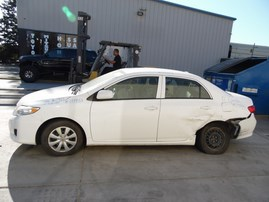 2010 TOYOTA COROLLA LE WHITE 1.8L AT Z17933